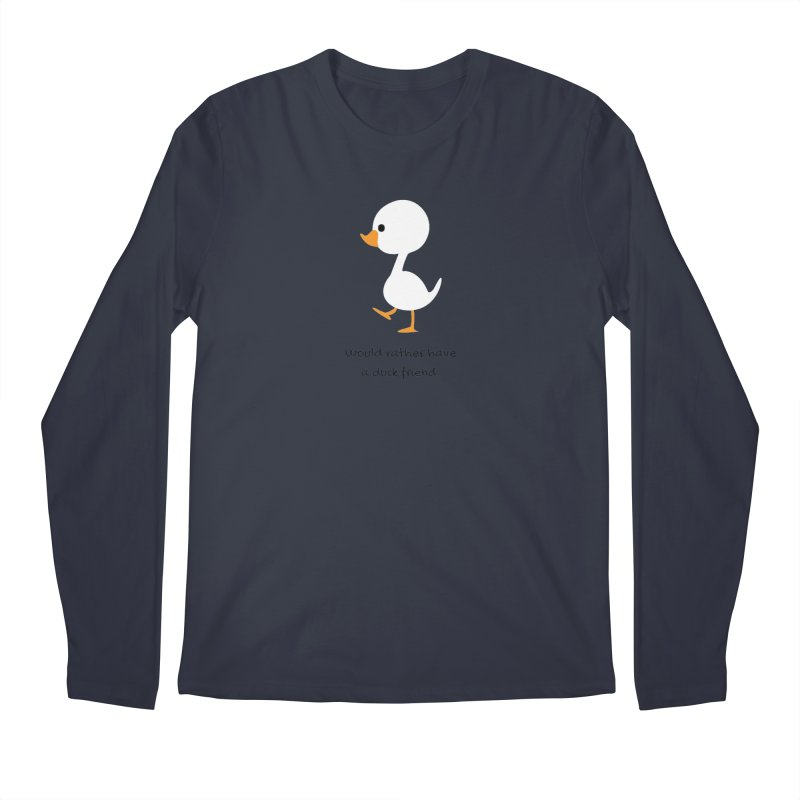 Duck friend Men's Regular Longsleeve T-Shirt by Soapboxy Boutique