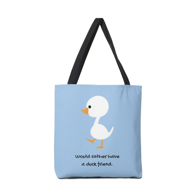 Duck friend Accessories Tote Bag Bag by Soapboxy Boutique