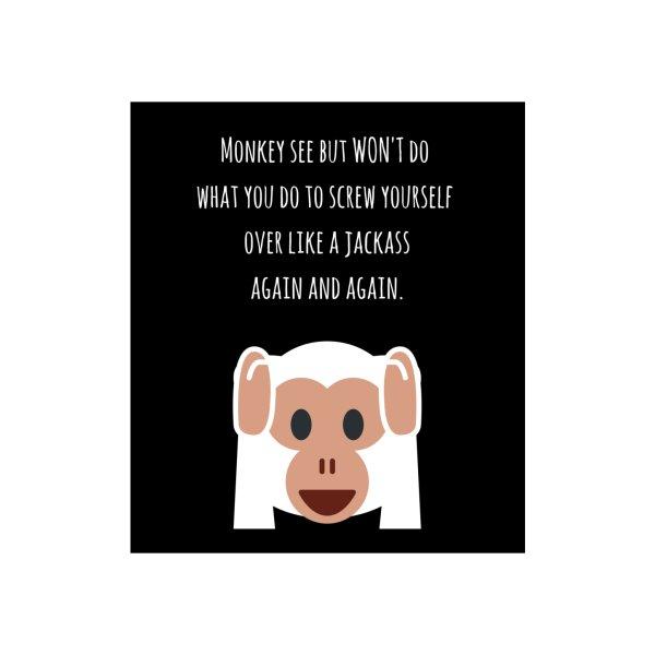 image for Monkey see...won't do