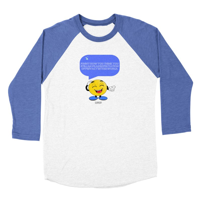 Funny How...Expectation of Privacy Men's Longsleeve T-Shirt by Soapboxy Boutique