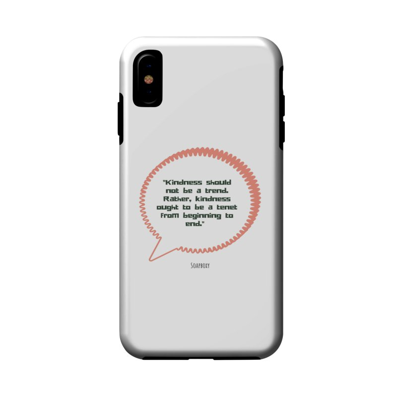 Kindness not a trend Accessories Phone Case by Soapboxy Boutique