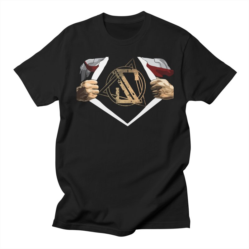 Solidify SUPERMAYNE TShirt! in Men's Regular T-Shirt Black by Solidify's Official Online Merch Shop