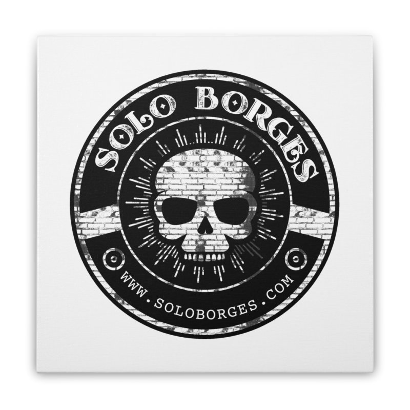 Solo Borges Original Bricks Home Stretched Canvas by Soloborges 's Artist Shop