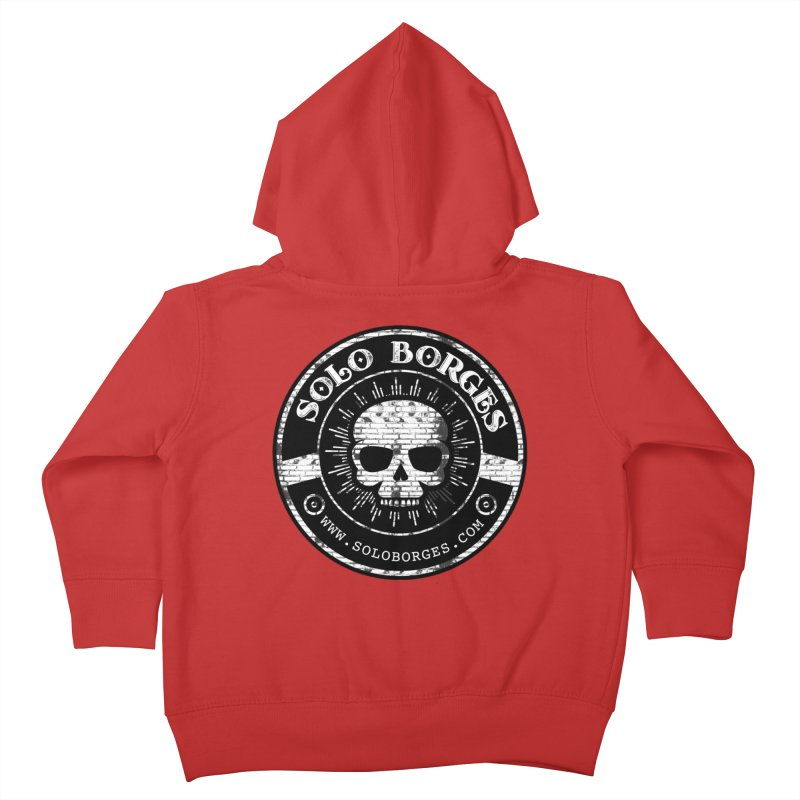 Solo Borges Original Bricks Kids Toddler Zip-Up Hoody by Soloborges 's Artist Shop