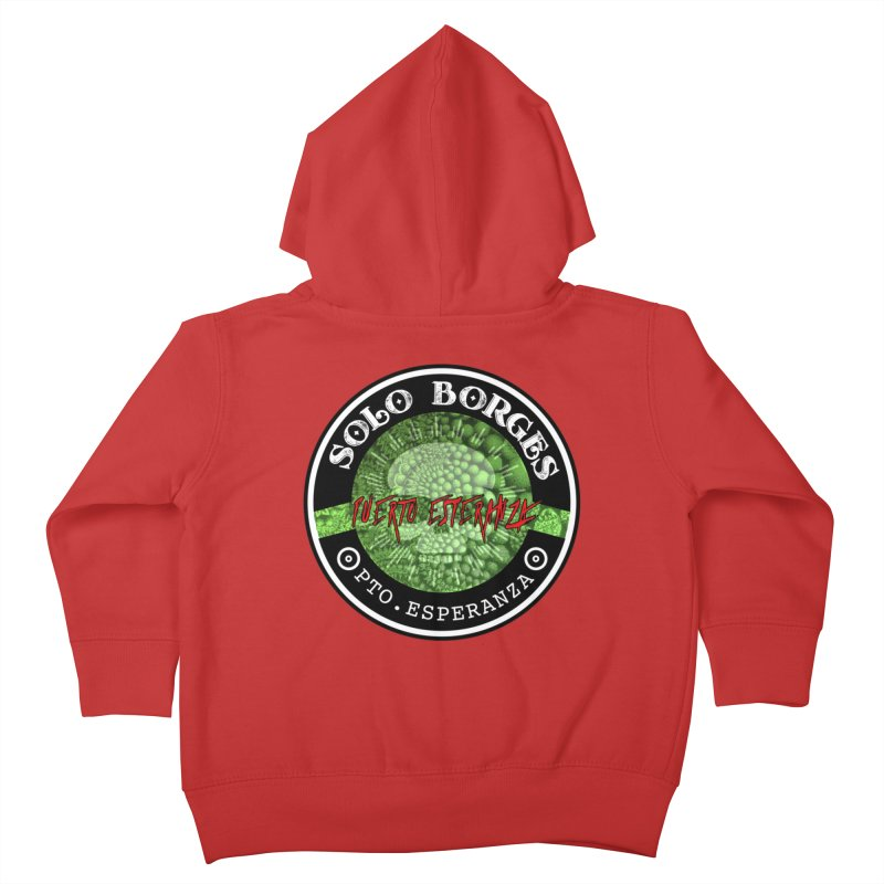 Solo Borges Pto. Esperanza Kids Toddler Zip-Up Hoody by Soloborges 's Artist Shop