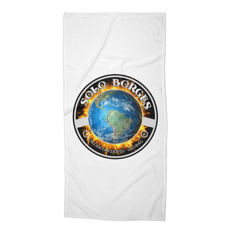 Solo Borges Calentamiento Global Accessories Beach Towel by Soloborges 's Artist Shop