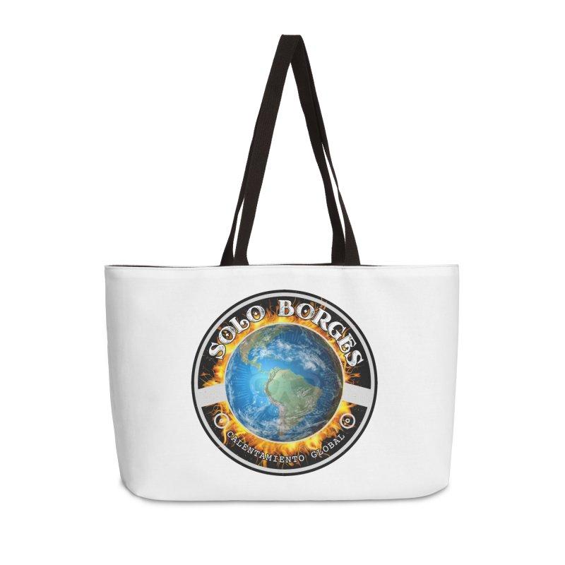 Solo Borges Calentamiento Global Accessories Bag by Soloborges 's Artist Shop