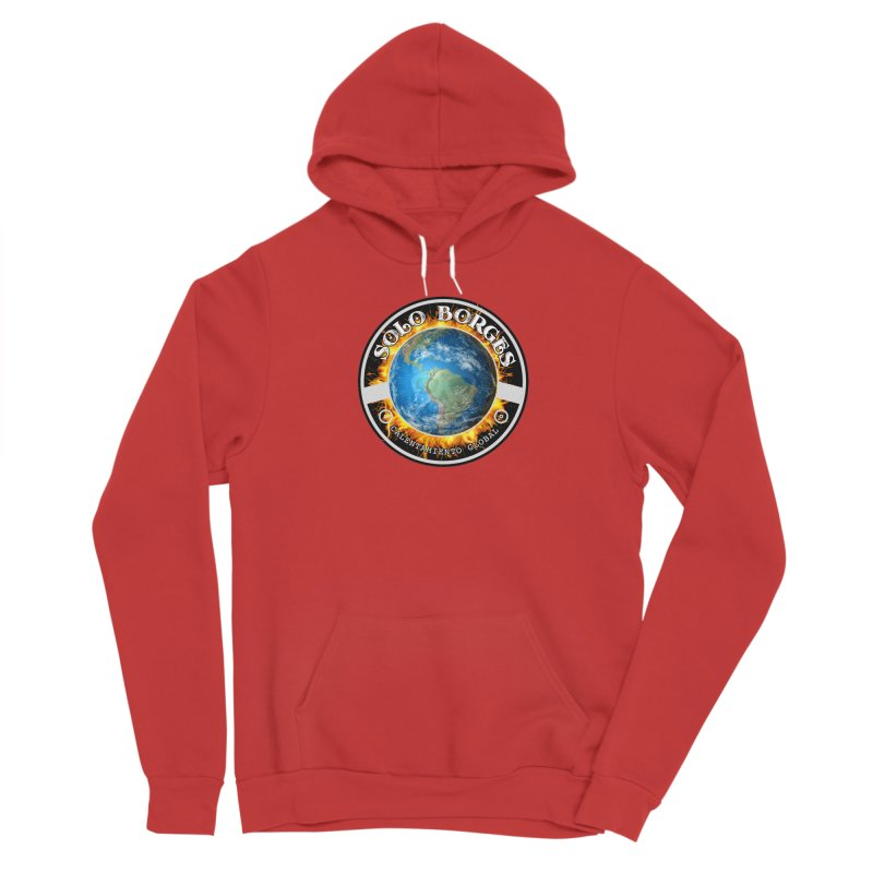 Solo Borges Calentamiento Global Men's Pullover Hoody by Soloborges 's Artist Shop