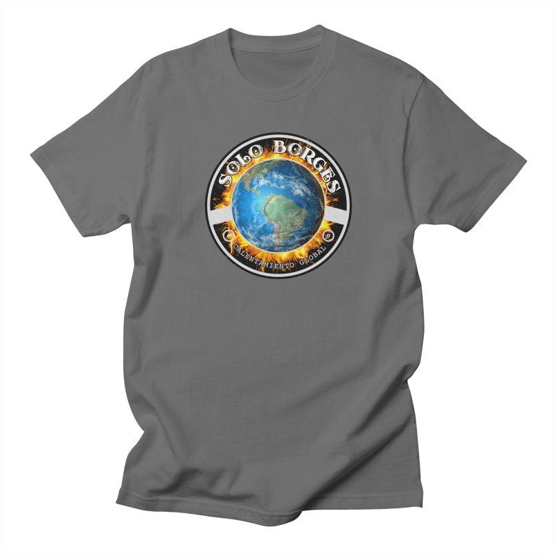 Solo Borges Calentamiento Global Men's T-Shirt by Soloborges 's Artist Shop