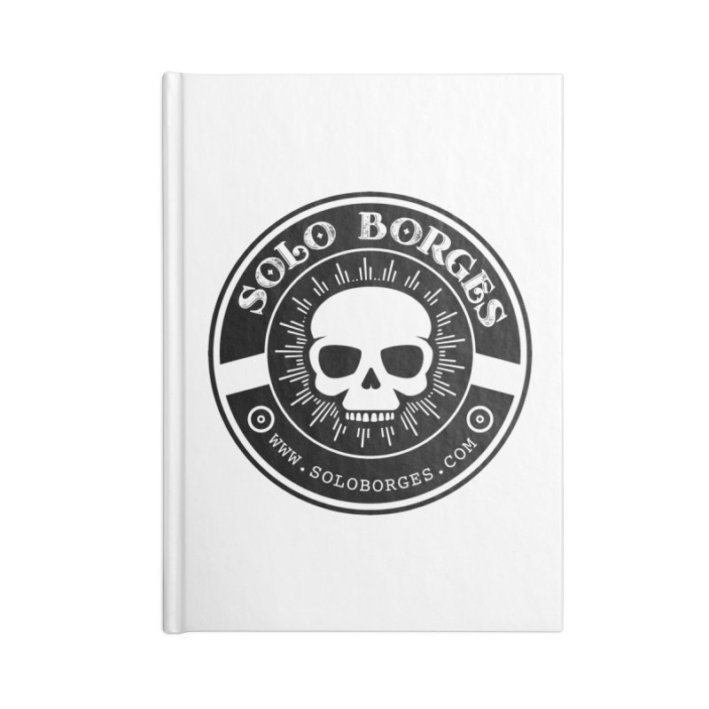 Solo Borges Clean Accessories Notebook by Soloborges 's Artist Shop