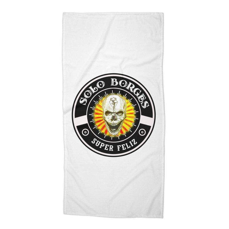 Super Feliz Accessories Beach Towel by Soloborges 's Artist Shop