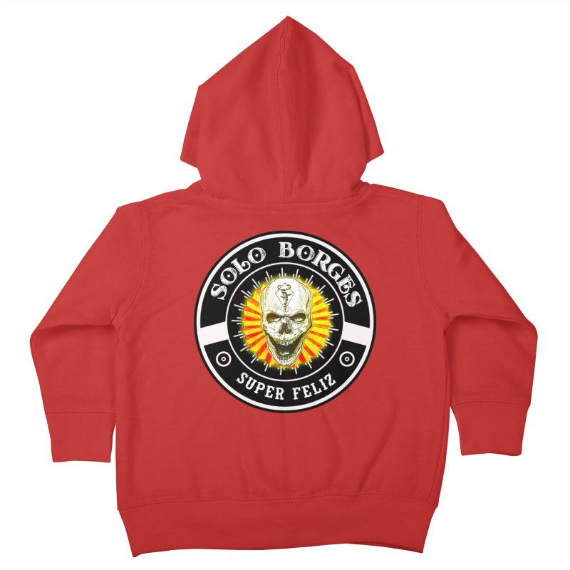 Super Feliz Kids Toddler Zip-Up Hoody by Soloborges 's Artist Shop