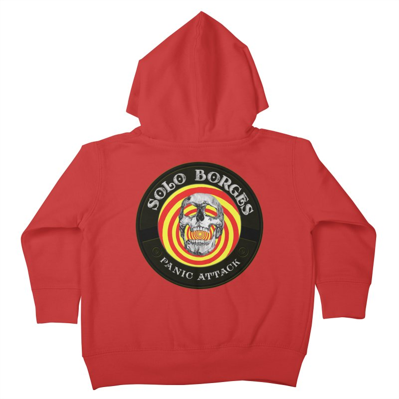 Panic Attack Kids Toddler Zip-Up Hoody by Soloborges 's Artist Shop