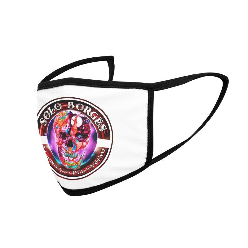 Al Costado Del Camino Accessories Face Mask by Soloborges 's Artist Shop