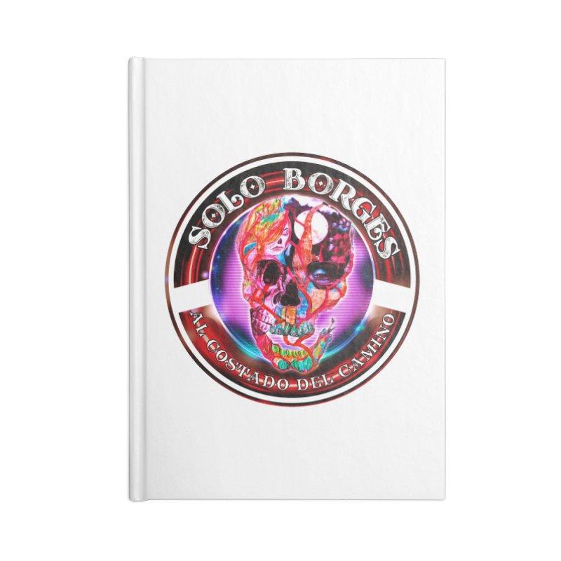 Al Costado Del Camino Accessories Notebook by Soloborges 's Artist Shop