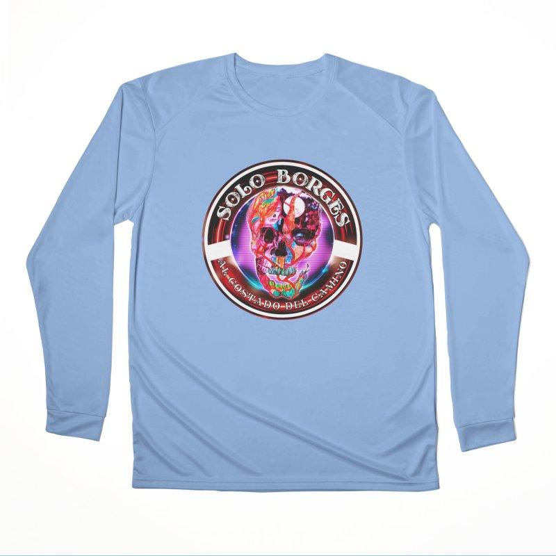 Al Costado Del Camino Women's Longsleeve T-Shirt by Soloborges 's Artist Shop
