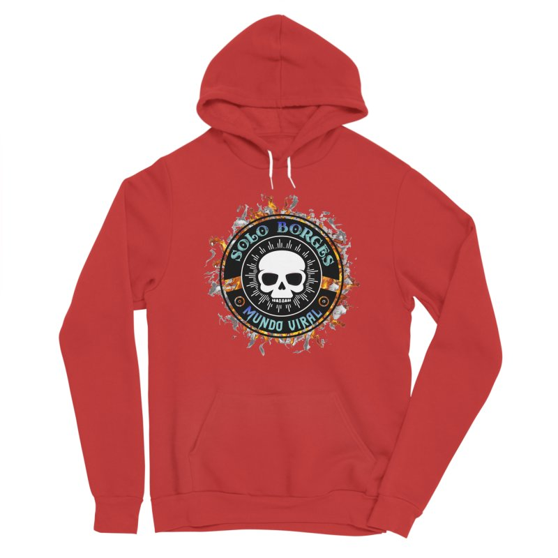 Mundo Viral Men's Pullover Hoody by Soloborges 's Artist Shop