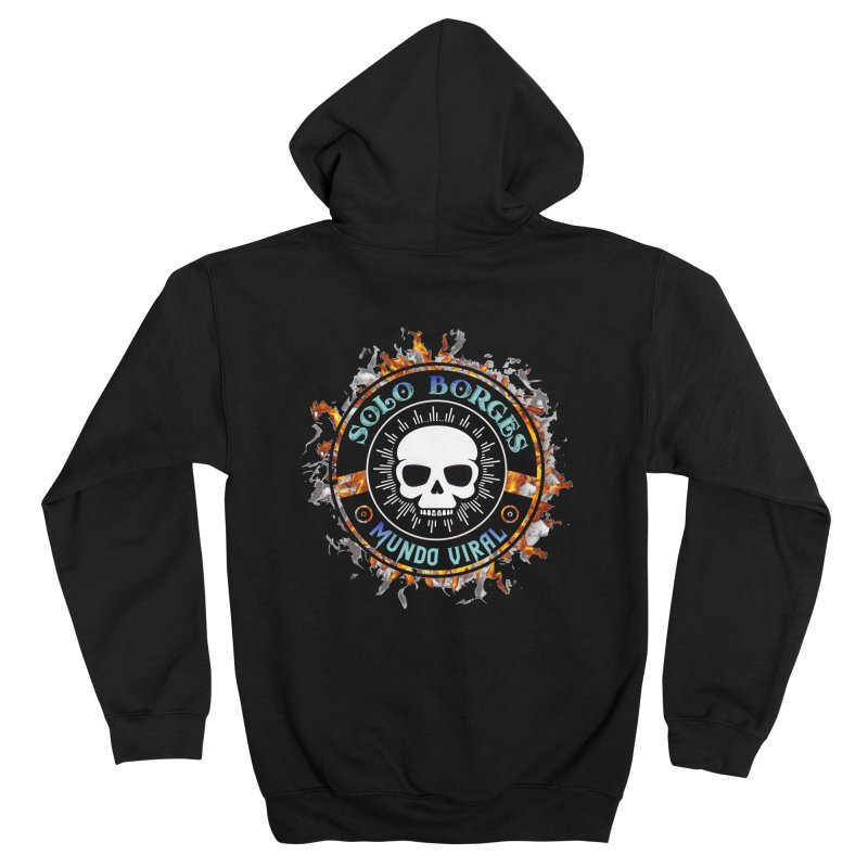 Mundo Viral Women's Zip-Up Hoody by Soloborges 's Artist Shop