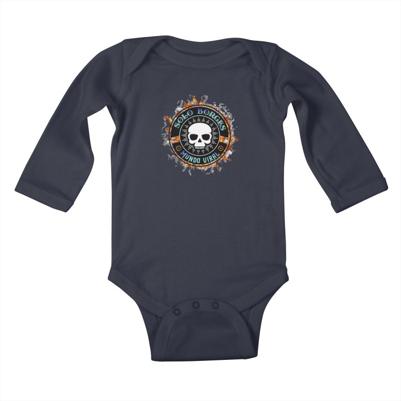 Mundo Viral Kids Baby Longsleeve Bodysuit by Soloborges 's Artist Shop