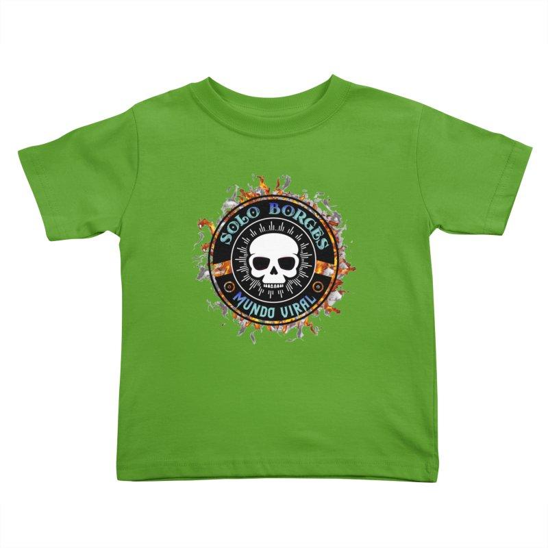 Mundo Viral Kids Toddler T-Shirt by Soloborges 's Artist Shop