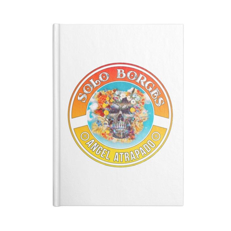 Angel Atrapado Accessories Notebook by Soloborges 's Artist Shop