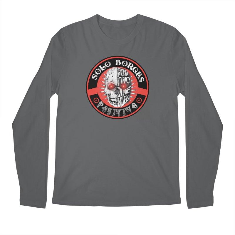 Positivo Men's Longsleeve T-Shirt by Soloborges 's Artist Shop