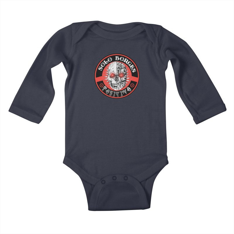 Positivo Kids Baby Longsleeve Bodysuit by Soloborges 's Artist Shop