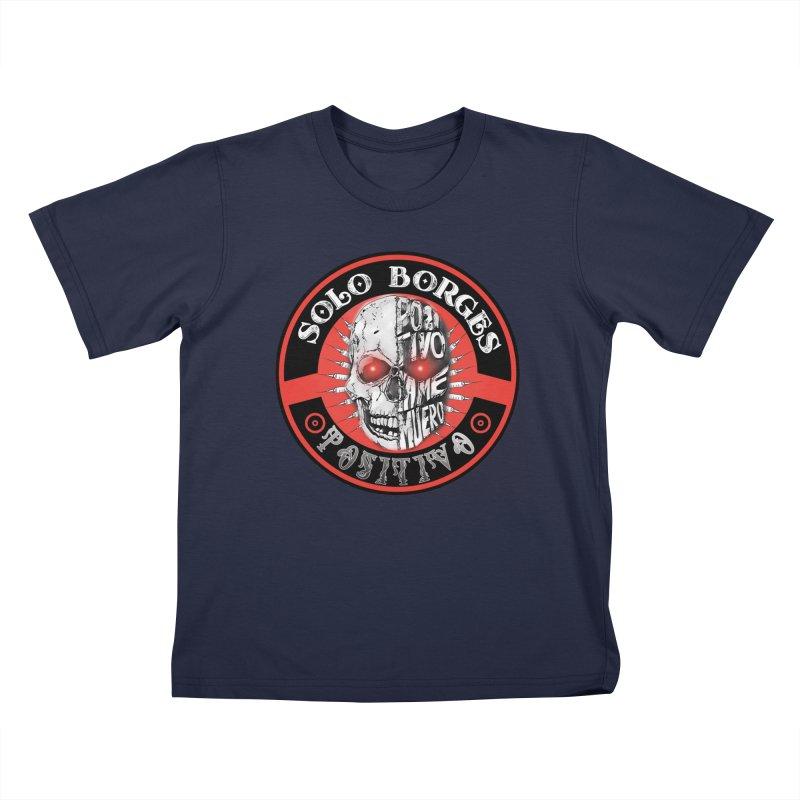 Positivo Kids T-Shirt by Soloborges 's Artist Shop