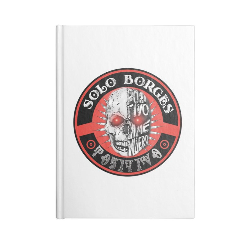 Positivo Accessories Notebook by Soloborges 's Artist Shop