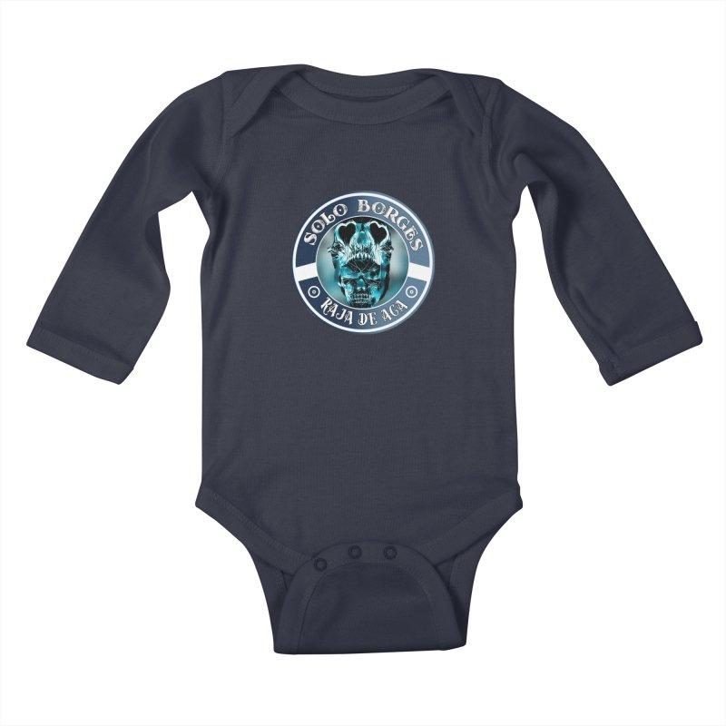 Raja de Aca Kids Baby Longsleeve Bodysuit by Soloborges 's Artist Shop