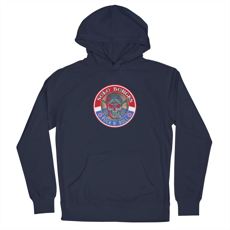 Rock and Roll Men's Pullover Hoody by Soloborges 's Artist Shop