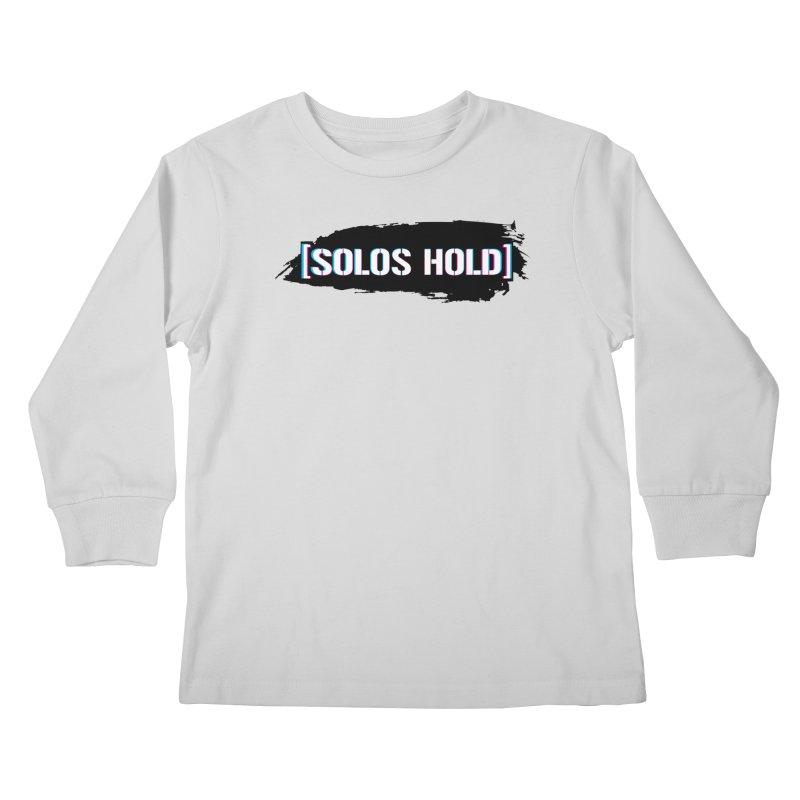 SH Hoon Kids Longsleeve T-Shirt by SolosHold's Artist Shop