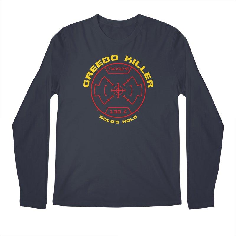 Greedo Killer Men's Regular Longsleeve T-Shirt by SolosHold's Artist Shop
