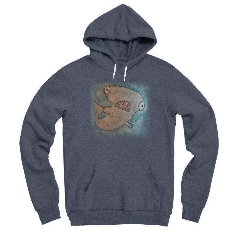 Faith's Whale Men's Sponge Fleece Pullover Hoody by SolosHold's Artist Shop