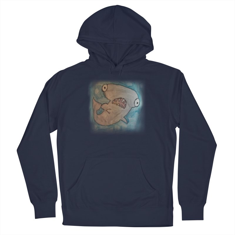 Faith's Whale Men's French Terry Pullover Hoody by SolosHold's Artist Shop