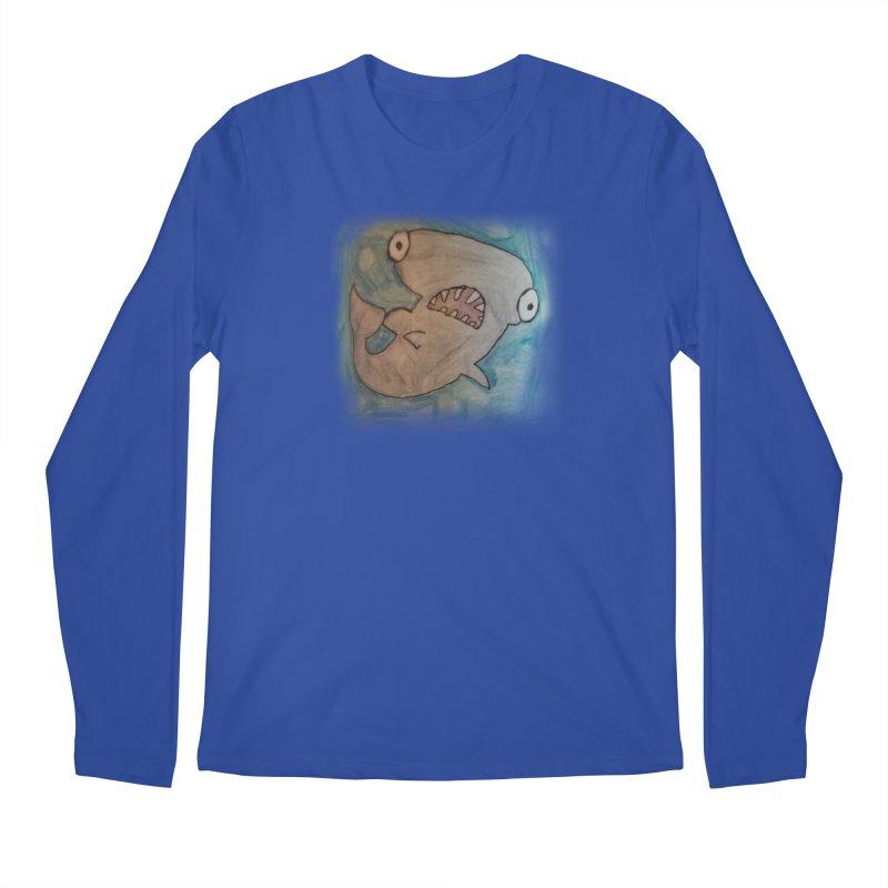 Faith's Whale Men's Regular Longsleeve T-Shirt by SolosHold's Artist Shop