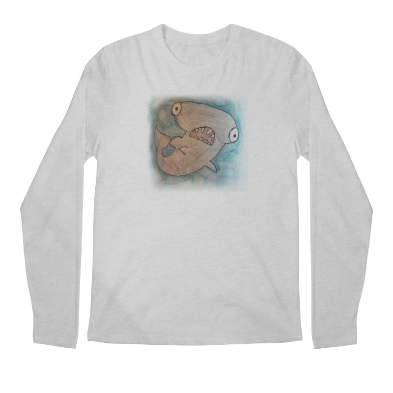 Faith's Whale Men's Regular Longsleeve T-Shirt by SolosHold's Artist Shop