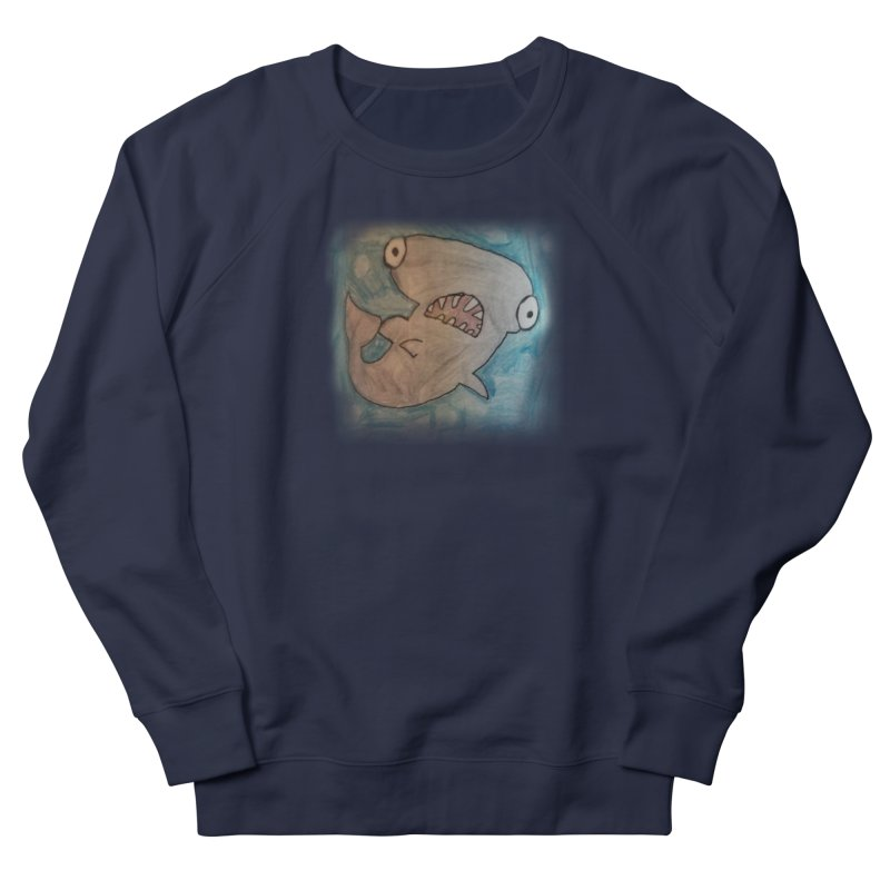Faith's Whale Men's French Terry Sweatshirt by SolosHold's Artist Shop