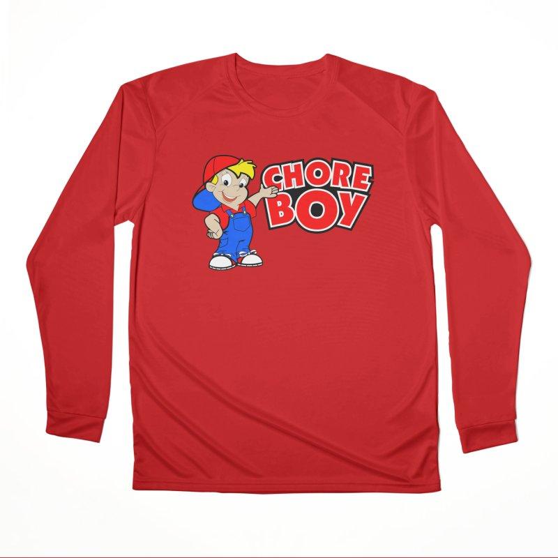 ChoreBoy Men's Performance Longsleeve T-Shirt by SolosHold's Artist Shop
