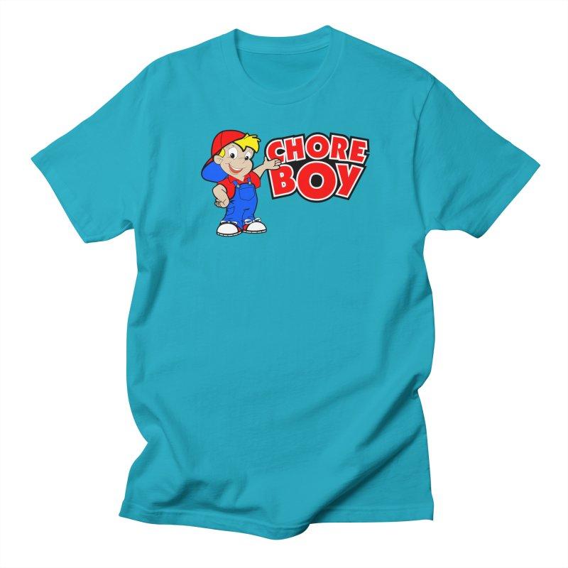 ChoreBoy Men's Regular T-Shirt by SolosHold's Artist Shop