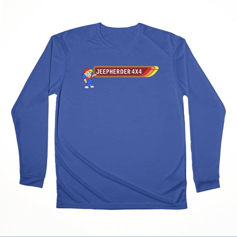 CB Jeepherder Men's Performance Longsleeve T-Shirt by SolosHold's Artist Shop