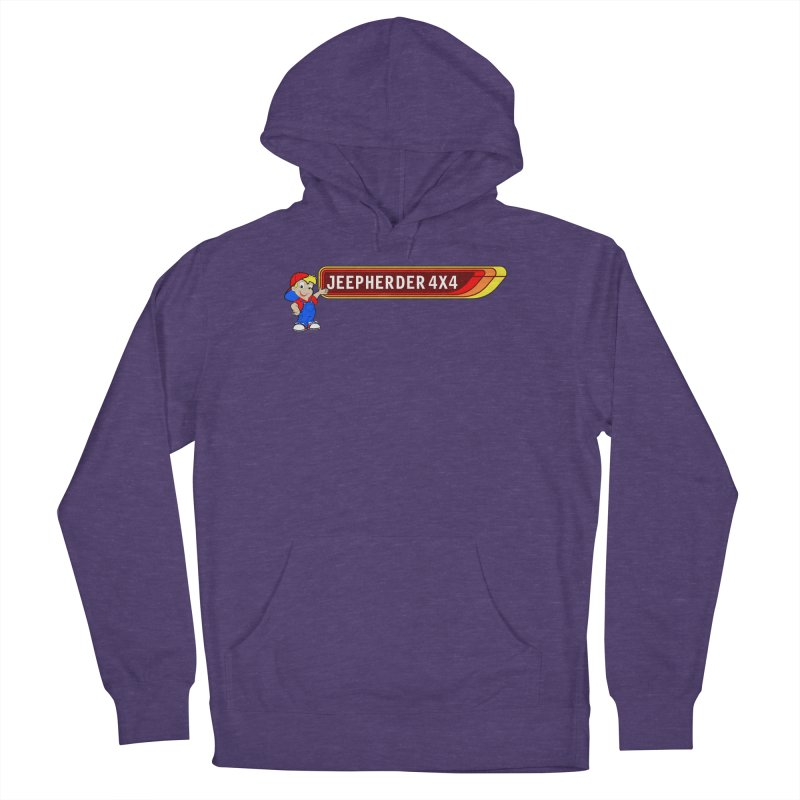 CB Jeepherder Men's French Terry Pullover Hoody by SolosHold's Artist Shop