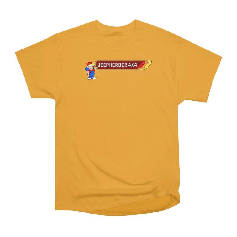 CB Jeepherder Men's Heavyweight T-Shirt by SolosHold's Artist Shop