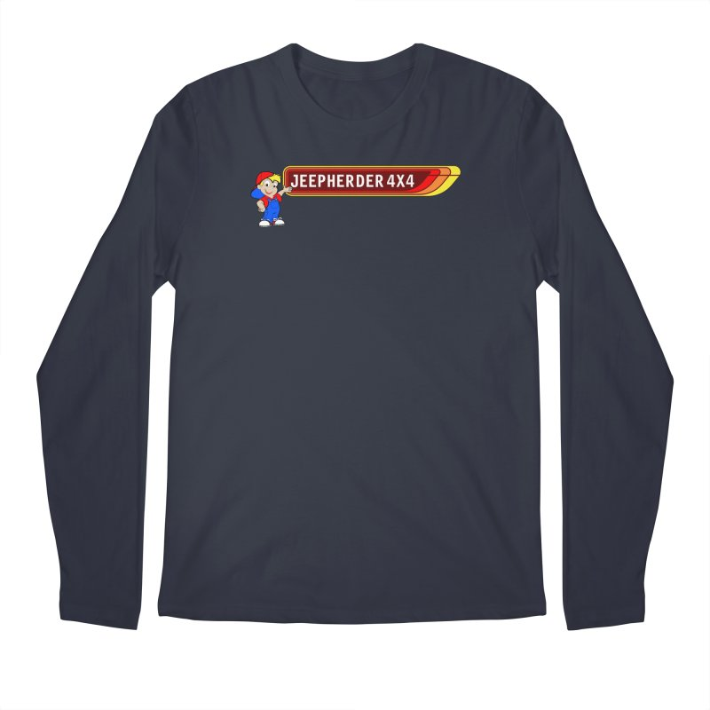 CB Jeepherder Men's Regular Longsleeve T-Shirt by SolosHold's Artist Shop