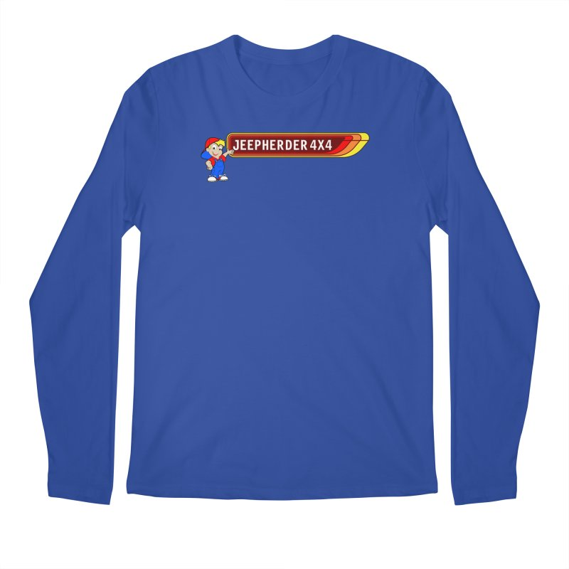 CB Jeepherder Men's Regular Longsleeve T-Shirt by SolosHold's Artist Shop