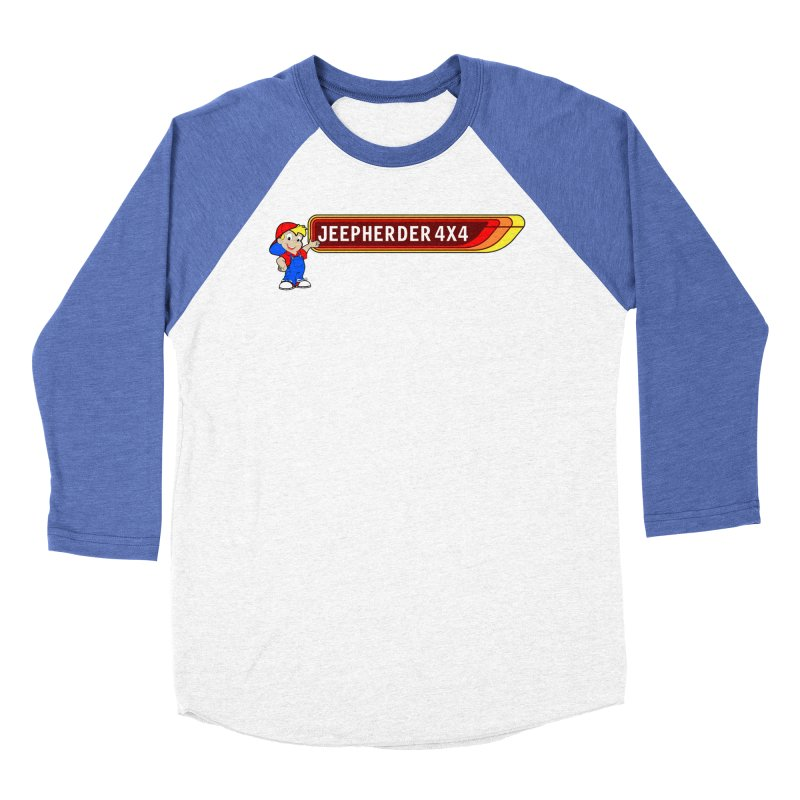 CB Jeepherder Men's Baseball Triblend Longsleeve T-Shirt by SolosHold's Artist Shop