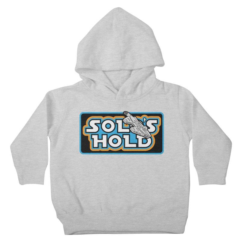 Blue Vintage Kids Toddler Pullover Hoody by SolosHold's Artist Shop