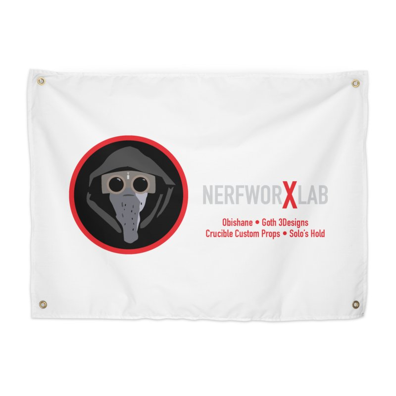 "NerfworXlab  ""Creators"" Home Tapestry by SolosHold's Artist Shop"
