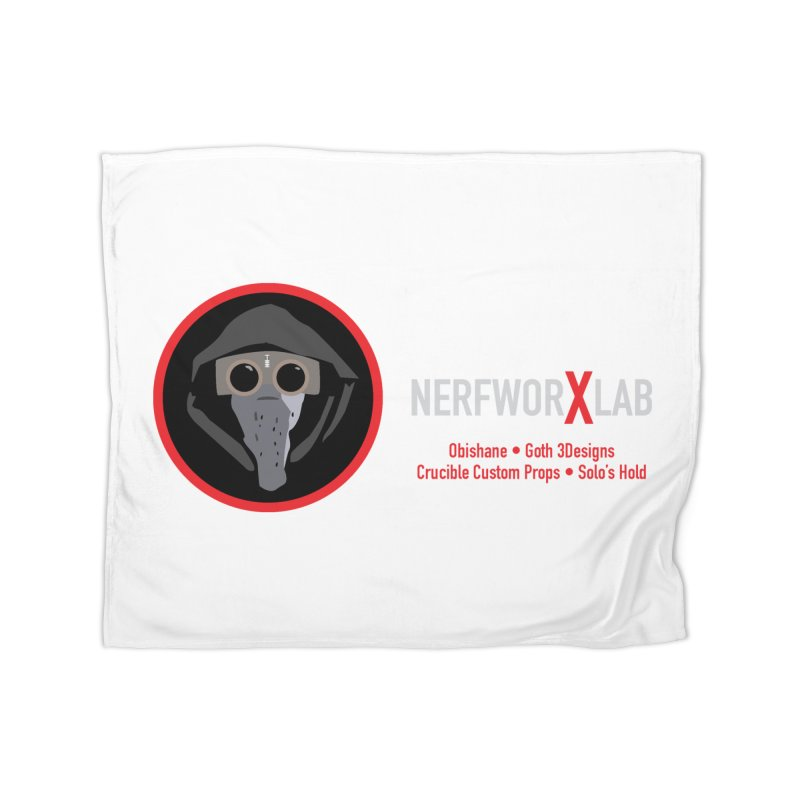 "NerfworXlab  ""Creators"" Home Fleece Blanket Blanket by SolosHold's Artist Shop"