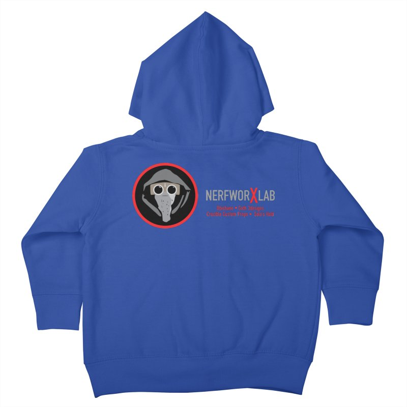 "NerfworXlab  ""Creators"" Kids Toddler Zip-Up Hoody by SolosHold's Artist Shop"